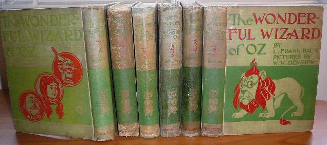 L.Frank Baum books in my inventory