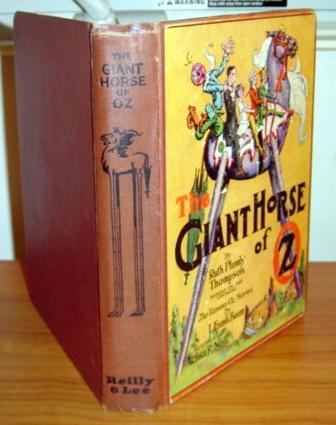 Giant Horse of Oz book