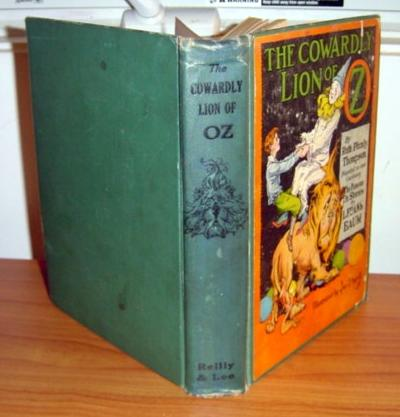 Cowardly Lion of Oz book