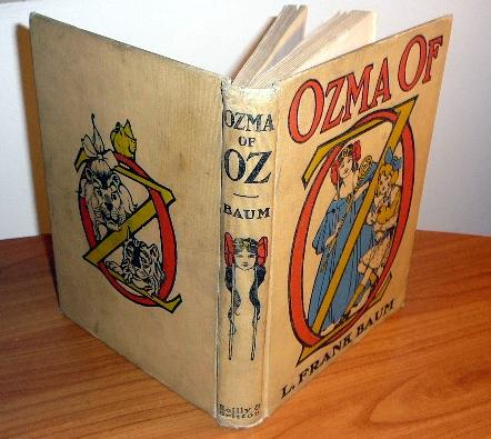 ozma of oz book - 1st edition, 2nd state - $350