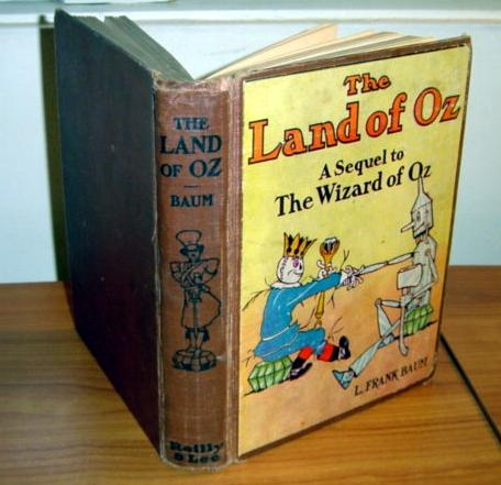 Land of oz - Pre 1935 with 12 plates - $120