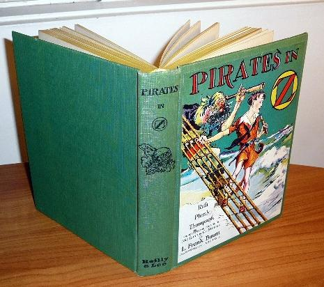 Pirates in Oz book