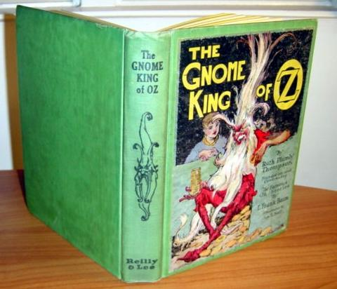 Gnome King of Oz book