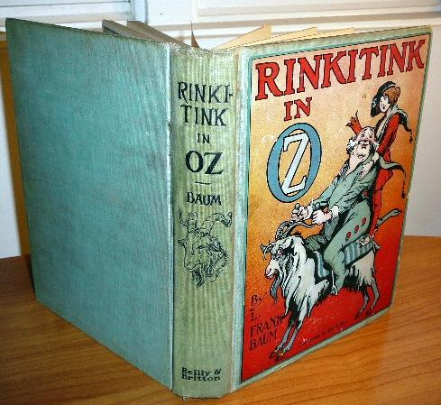 Rinkitink in Oz book