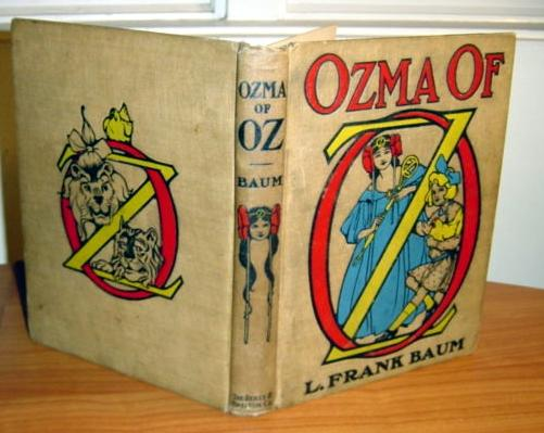 ozma of oz book, 1st, 1st, 1st - $650