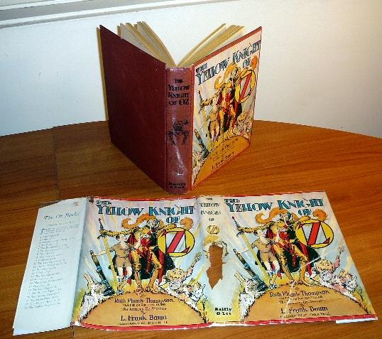 Yellow Knight of Oz book
