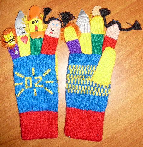 Wizard of oz gloves