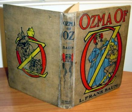 ozma of oz book, 1st, 1st - $450