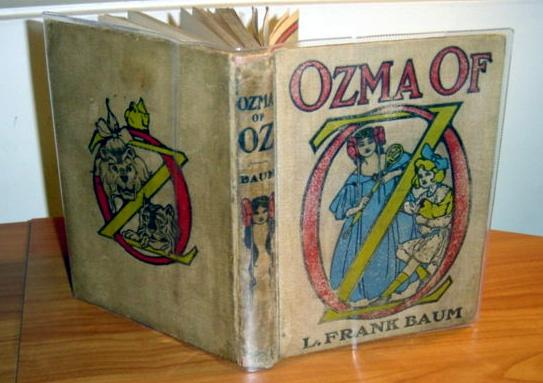 ozma of oz book, 1st, 1st - $400