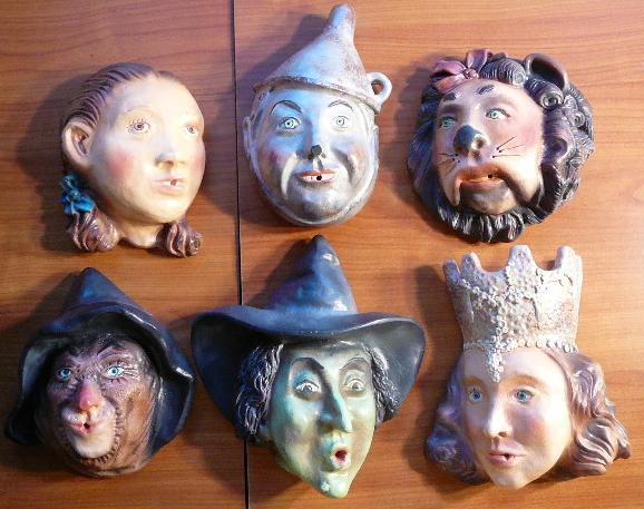 Oz character masks