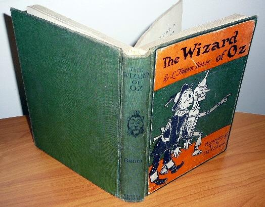 Wizard of oz Books