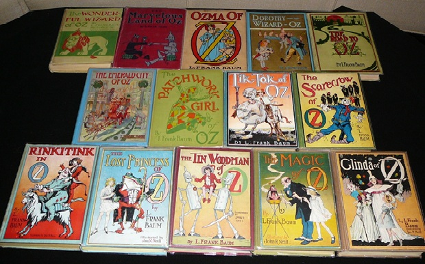 WIzard of oz firest edition books