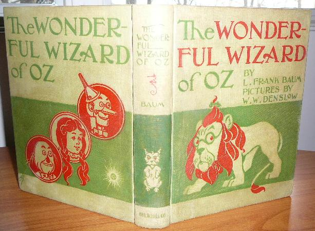 New Wizard of Oz. 2nd edition, 1st state. Please note presence of