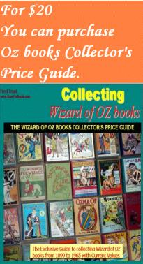 collectilbe books wizard oz price guide