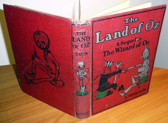 Marvelous Land of oz - - 1st  edition, 3rd state - $300